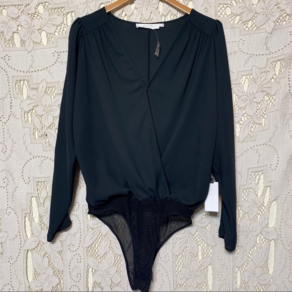 Astr Tops - Astr the label sheer top body suit size Large BNWT